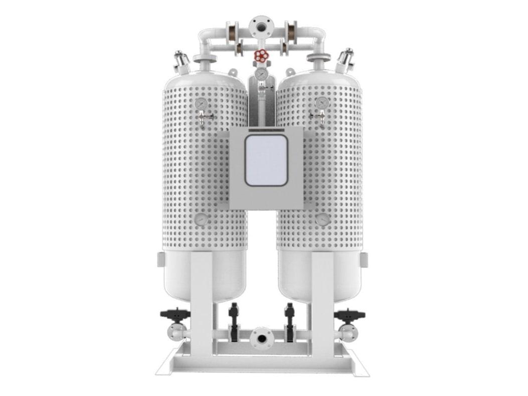PEH Desiccant air dryer External Heater Type