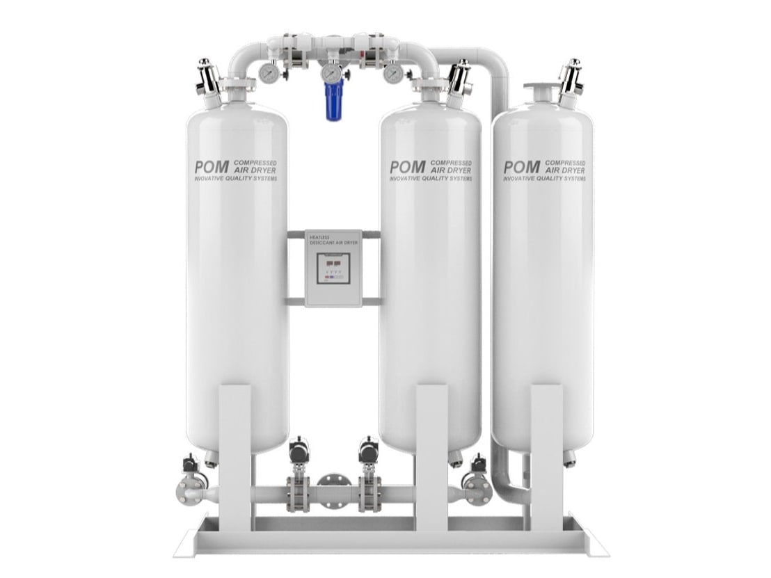 POM Desiccant air dryer Oilless master Type
