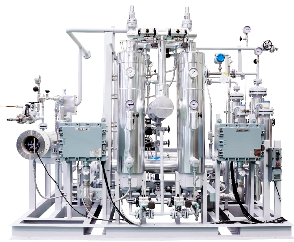 Device-system-configuration-of-hydrogen-dryer