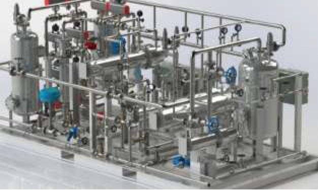 H2 Gas Dryer principle