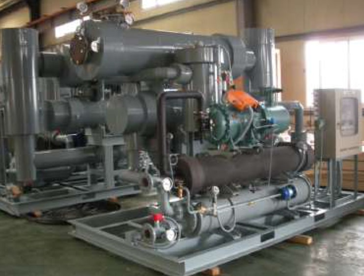 Indirect cooling air dryer