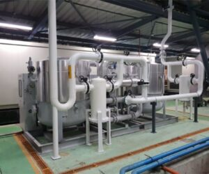 Desiccant air dryers to POSCO  (a Mexico factory) delivered in September 2017