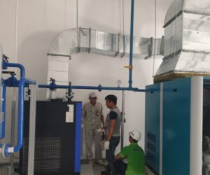 Nitrogen generation system to MEIKO Japan company (a Vietnam factory) delivered in June 2021