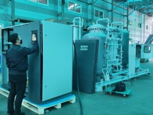Oxygen generation system to SAMSUNG ELECTRONICS (a BRAZIL factory) delivered in June 2021